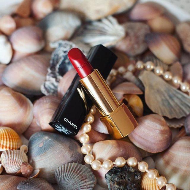 Dzi na blogu pomadkowo chanel pomadka szminka lipstick redlipstick ladyinredhellip