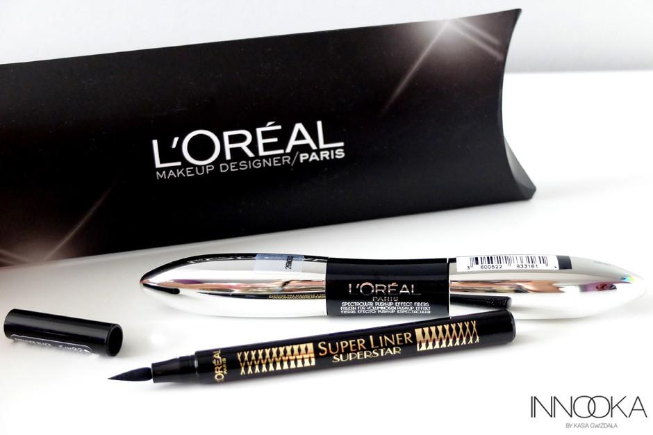 """mascara i eyeliner L""""Oreal"""