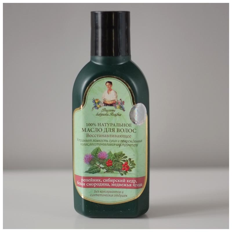 olejek do włosów babuszka agafia