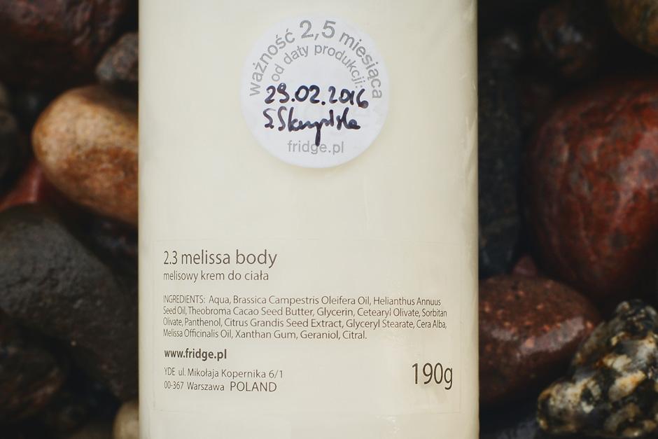 melisowy krem do ciała fridge skład (1)