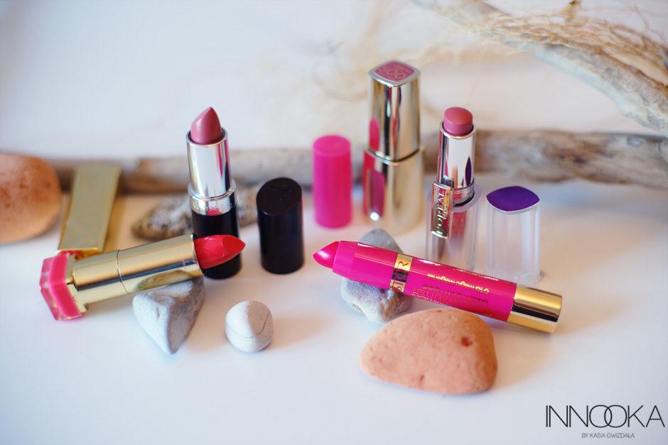 szminki porównanie opinie blog