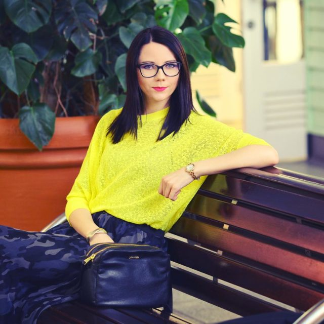 I yellow bloggerstyle ootd stylizacja moda gdask polska polskablogerka positivevibeshellip