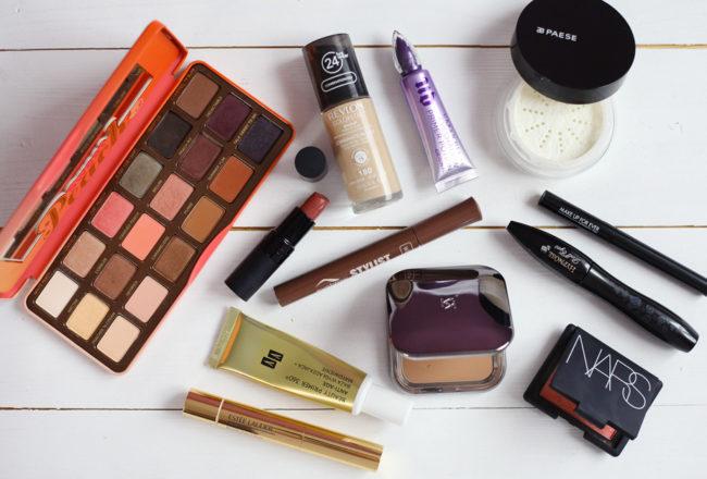 ulubione kosmetyki do makijazu