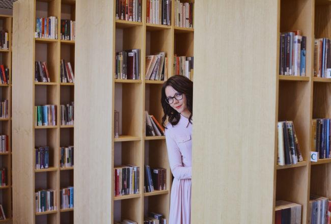 sesja w bibliotece