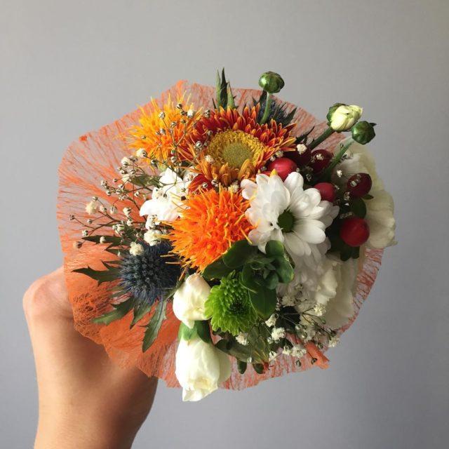 Taki malutki taki uroczy bukiet kwiaty flowers bouquet beautiful minihellip
