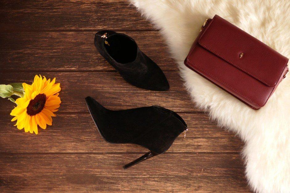 modne buty i torebka ochnik