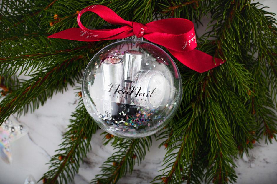 świąteczny Zestaw Neonail W Formie Bombki Idealny Prezent Dla