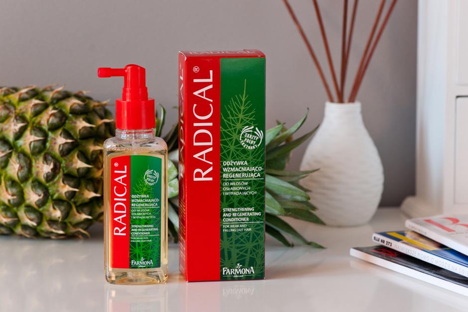 farmona radical odżywka wzmacniająco- regenerująca do włosów osłabionych i wypadających