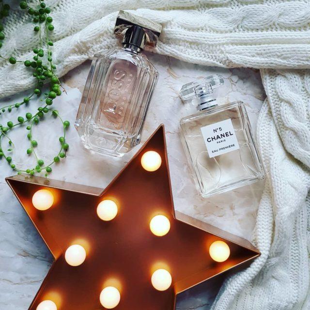 Ulubione zimowe zapachy perfumy zima chanel hugoboss gwiazda tchibo sweterhellip