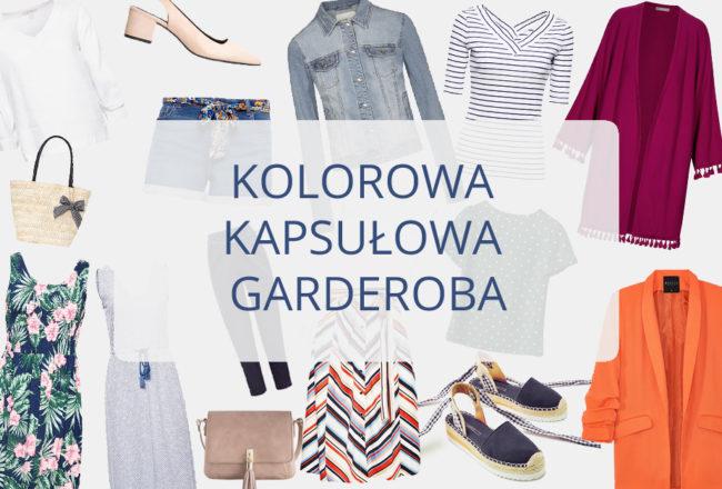 Kolorowa kapsułowa garderoba na co dzień