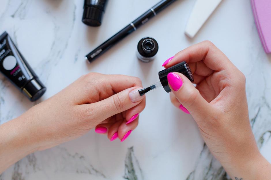 neonail duo acrylgel przedłużanie paznokci