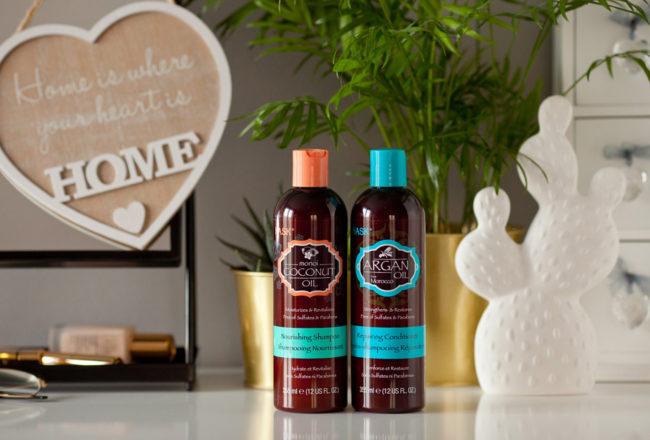 szampon i odżywka Hask z Hebe