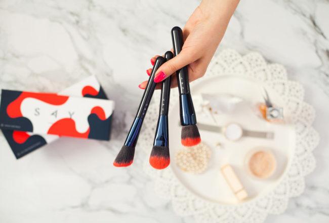 Mój codzienny makijaż + recenzja pędzli do makijażu SAY Makeup