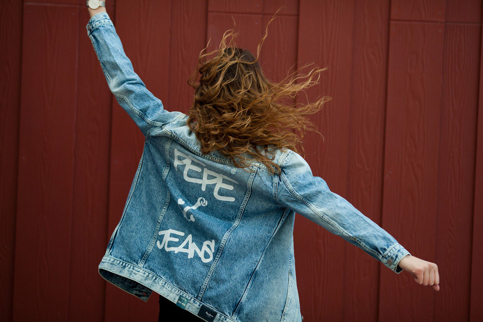 kurtka jeansowa pepe jeans