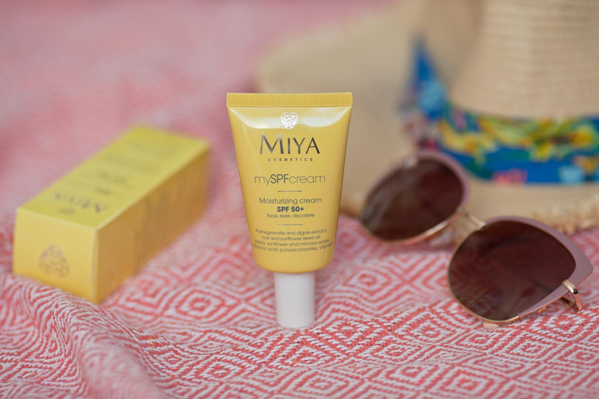 Miya Cosmetics krem z filtrem SPF 50+